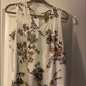 Maurice's floral tank new with tags